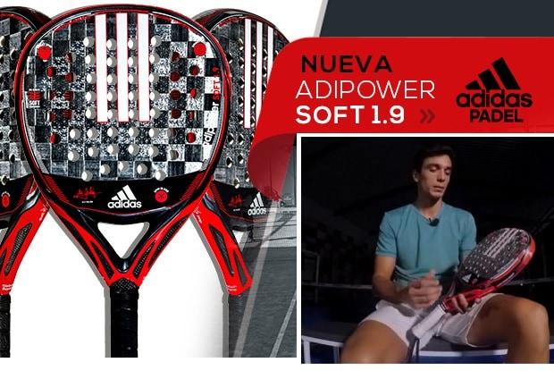 cuenta Comienzo El uno al otro  Adidas Adipower ATTK 1.9 SOFT, la pala de Ale Galán en 2019   PadelStar