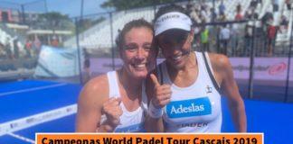 Campeonas World Padel Tour Cascais