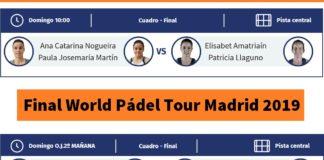 Final World Padel Tour Madrid en directo