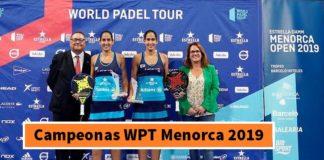 Campeonas World Padel Tour Menorca 2019