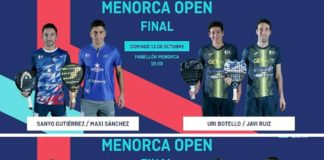 Final World Padel Tour Menorca 2019