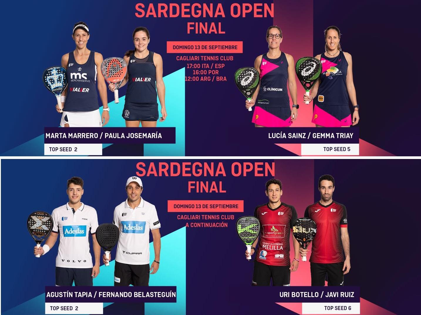 Final World Padel Tour Sardegna Italia 2020