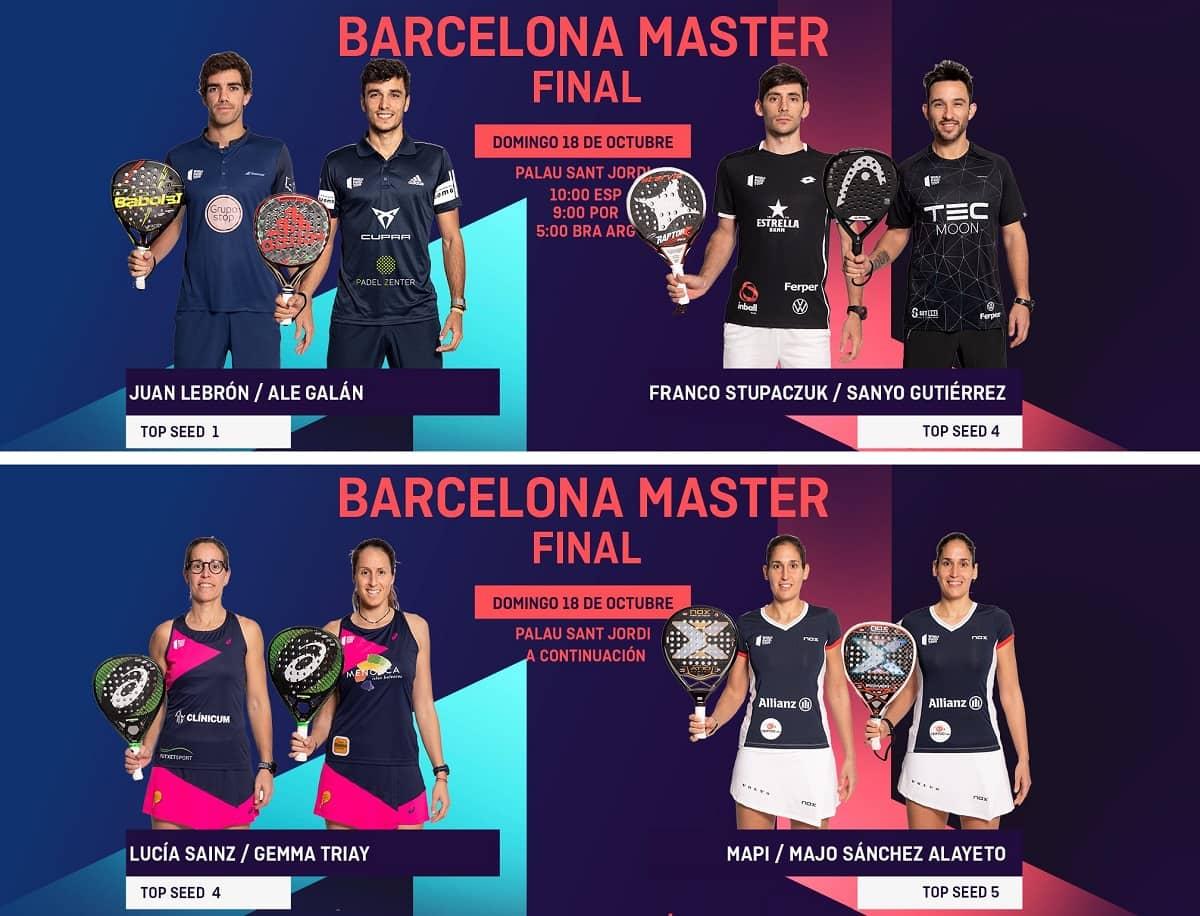 Final World Padel Tour Barcelona 2020