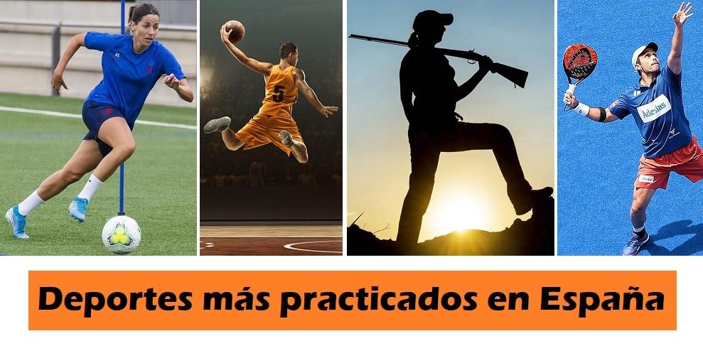 Deportes mas practicados en España